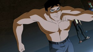 superboy shirtless