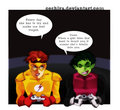 video game talk - teen-titans-vs-young-justice photo