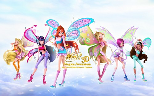 Winx Club fond d'écran probably containing animé entitled winx club