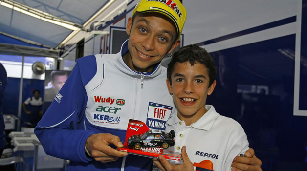 with Marc Marquez