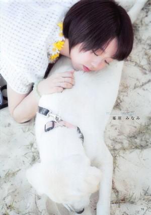 [AKB48 no Inu Kyoudai] Minegishi Minami