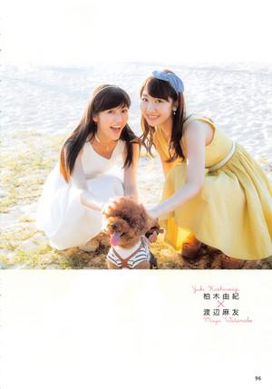 [AKB48 no Inu Kyoudai] Watanabe Mayu x Kashiwagi Yuki