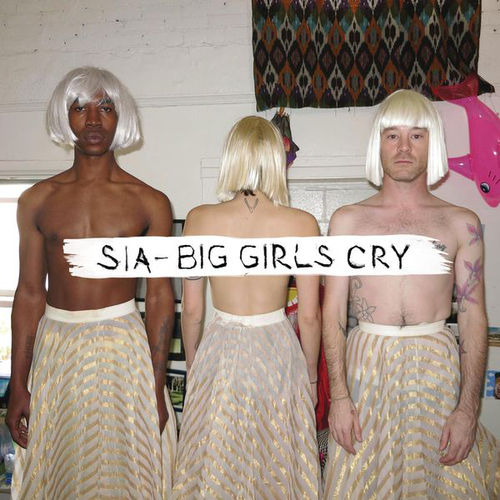 "Sia hình nền entitled ""Big girls cry"" Artwork"