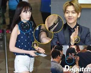 [DISPATCH] Taeyeon and Baekhyun are dating
