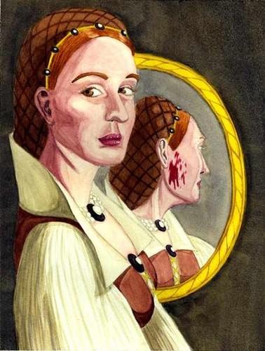Elizabeth Bathory wallpaper entitled Elizabeth Báthory (by Maria Leung)