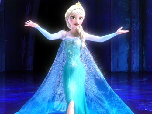 엘사와 안나 바탕화면 called Elsa in new hairstyle