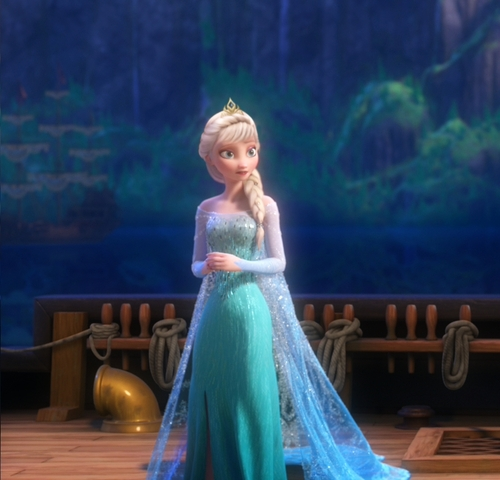 Elsa in new hairstyle elsa the snow queen photo Cute brown hairstyle color pics hair ideas