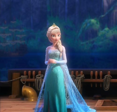 Elsa In New Hairstyle Frozen Photo 37288349 Fanpop