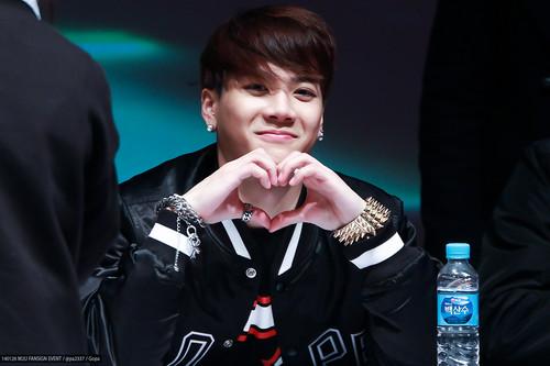 Jackson wang smile