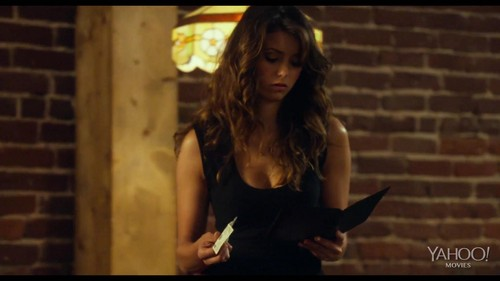 Nina Dobrev fond d'écran possibly with a portrait titled LET'S BE COPS Official Red Band Trailer