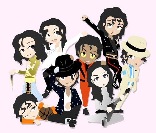 Michael Jackson fond d'écran titled ♡ Michael - manga style ♡