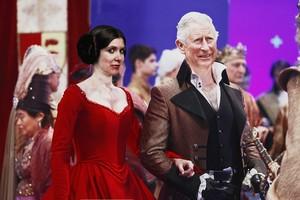 """"""" Princess Leia"""" and """" Prince Charles"""" aka Emma and Hook"""