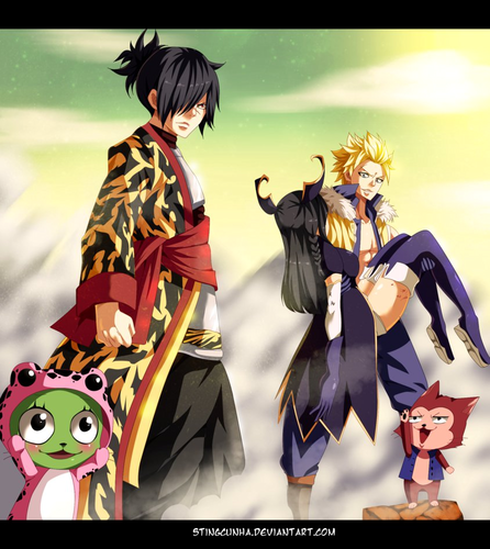 Fairy Tail wallpaper called *TWIN DRAGONS ARRIVE*
