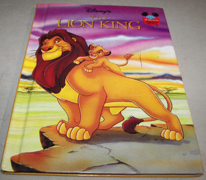 """The Lion King"" Storybook"