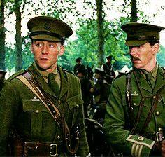 War Horse - Benedict Cumberbatch & Tom Hiddleston Photo ...Tom Hiddleston Benedict Cumberbatch War Horse