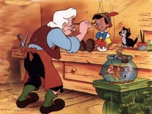 "1940 Disney Cartoon, ""Pinnochio"""