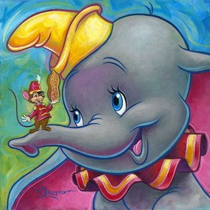 "1941 Disney Cartoon, ""Dumbo"""