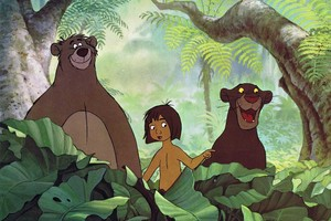 "1967 ディズニー Cartoon, ""Jungle Book"""