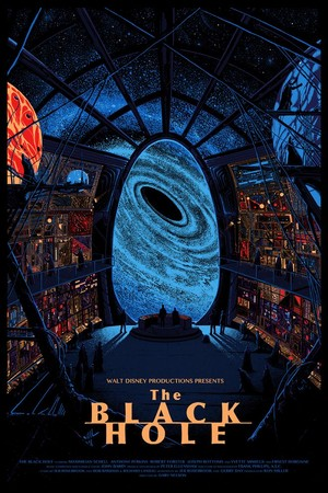 "1979 Дисней Science Fiction Film, ""The Black Hole"""