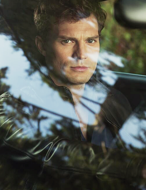 1st still of Jamie Dornan as Christian Grey