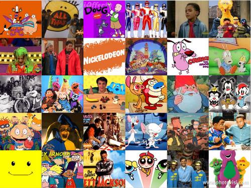 hoạt hình hình nền containing anime titled 90s hoạt hình Nickelodeon
