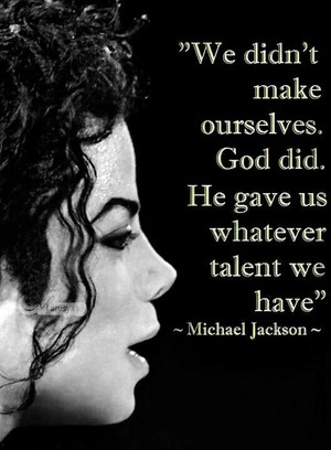 A Personal Quote From Michael