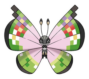 A Vivillon of a Different Pattern