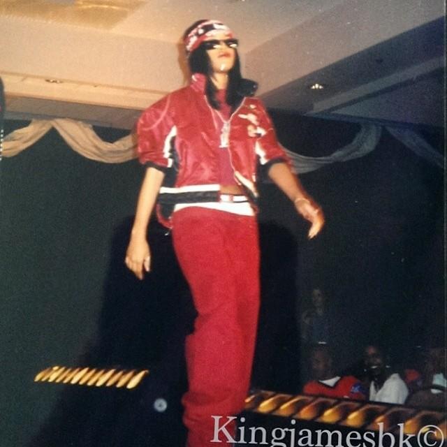 Aaliyah ~ Tommy Hilfiger Fashion onyesha *RARE*