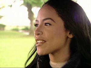 aaliyah on the set of 'Romeo must die'