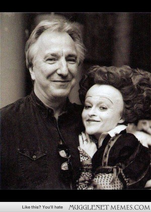 Alan and Helena ( as Red Queen)