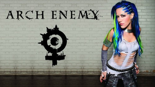 Musica wallpaper possibly with a sign and a hip boot entitled Alissa White-Gluz