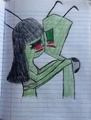 AlixRed Alone Time - invader-zim fan art