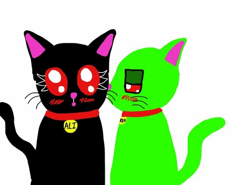 Invader Zim wallpaper entitled AlixRed Kittens