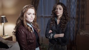 Allison Argent with Lydia Martin in season 1