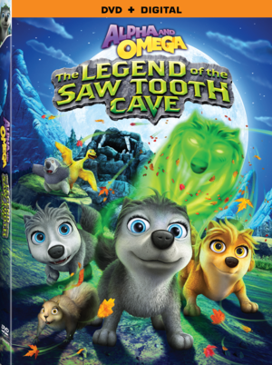 Alpha and Omega 4 The Legend of the Saw Tooth Cave DVD Cover (larger copy)