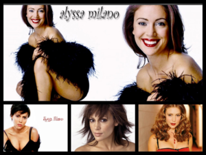 Alyssa Milano collage