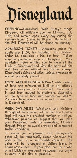 An articolo Pertaining To Disneyland