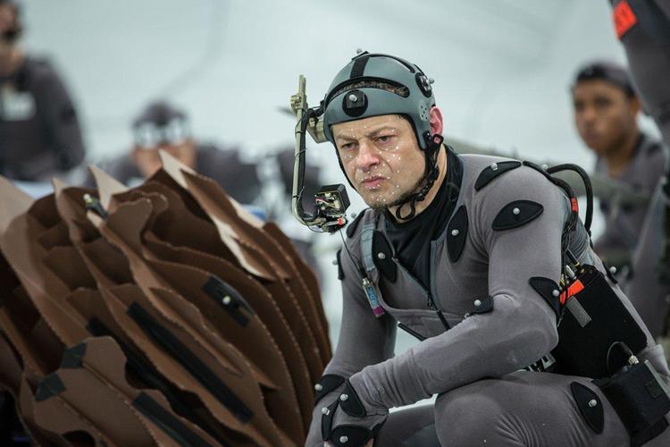 Andy Serkis on estrella WARS: EPISODE VII Performance Capture