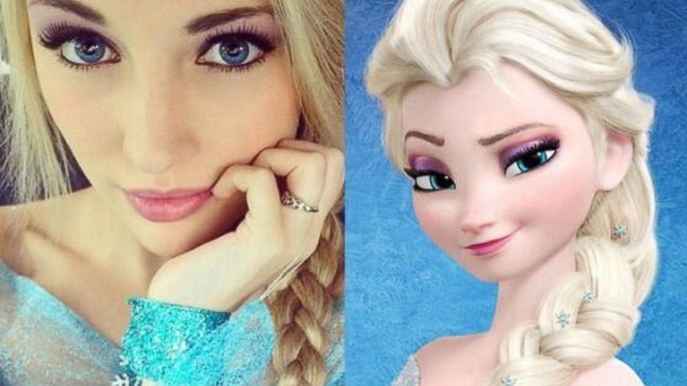 Anna Faith - Real Life Elsa