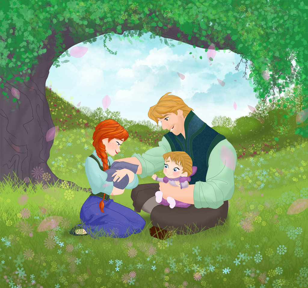 Anna and Kristoff's Family - Princess Anna Fan Art ...