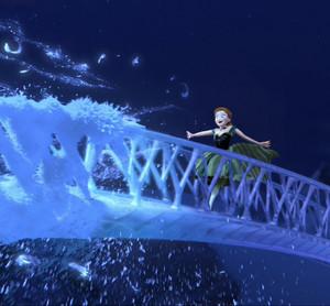Anna as Elsa