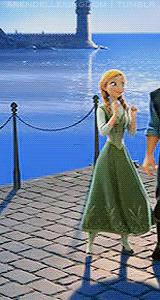 Anna's ending dress