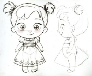 Anna toddler plush concept art