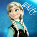 Anna with white hair icon
