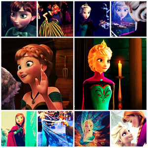Another Elsanna Collage