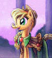 Applejack Gala Potrait