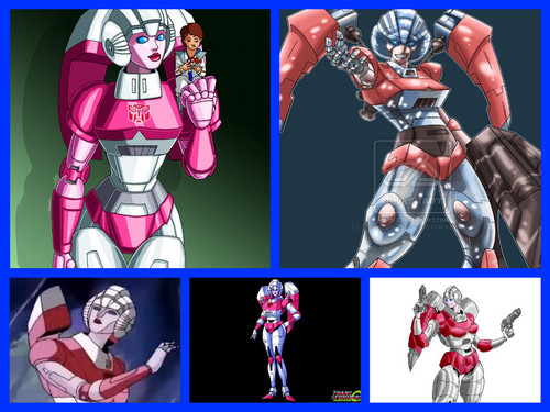 Transformers wallpaper with anime called Arcee