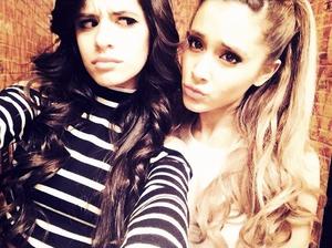 Ariana and Camila