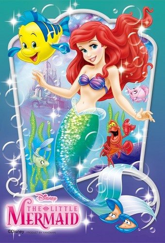 The Little Mermaid wallpaper possibly with anime called Ariel