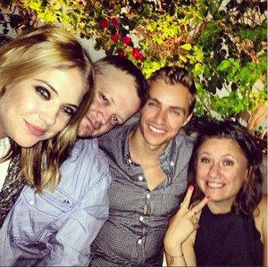Ashley Benson and Dave Franco